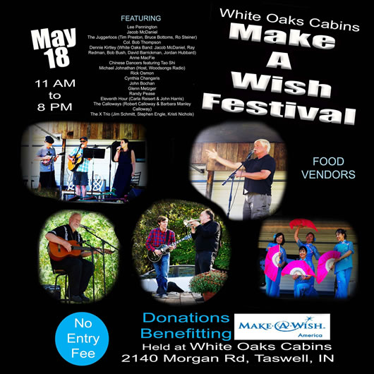 Make A Wish Festival - May 18, 2019 - 11 am to 8 pm